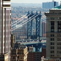 Manhattan Bridge, Бруклин