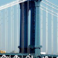 The Manhattan Bridge, Бруклин