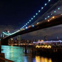 Brooklyn Bridge at Night Sep.2008, Бруклин