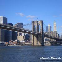 Brookling Bridge, New York, USA http://www.goplanettravel.blogspot.com/, Бруклин