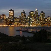 Manhattan from Brooklyn, Бруклин
