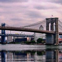 Завжди мальовничий Brooklyn Bridge, Бруклин