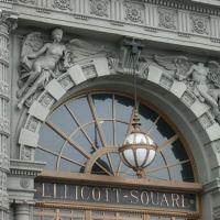 Ellicott Square outdoor archway, Буффало