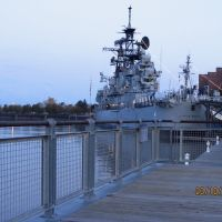 Cruiser USS Little Rock in the Buffalo and Erie County Naval & Military Park, Буффало