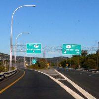 to Binghamton or to Johnson City, Вестал