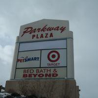 Parkway Plaza sign, Вестал