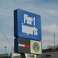 Pier 1 Imports sign, Вестал