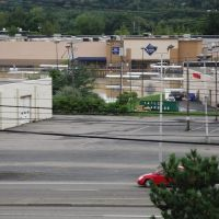 Town Square Mall & Vestal Parkway from the Weis store, Вестал