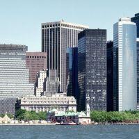 New York, Manhattans modern and old Buildings, Галвэй