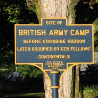 Revolutionary War Site - Battle of Saratoga - Camp of General Burgoyne and General Fellows position, Гейтс