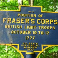 Revolutionary War Site - Battle of Saratoga - Frasers Corps, Гейтс