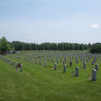 Saratoga National Cemetery on Memorial Day 2011, Гейтс