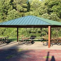 Badgerow Park North shelter, Грис