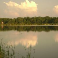 Buck Pond at sunset, Грис