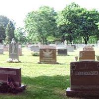 Holy Sepulchre Cemetery., Грис