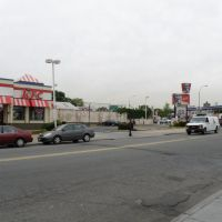 The Beautiful View of Queens Boulevard Of Briarwood, NY, USA., Джамайка