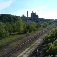 Jamestown NY: Train Tracks, Джеймстаун