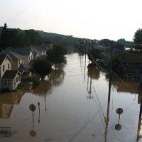 Grand Ave June 2006 Flood, Джонсон-Сити