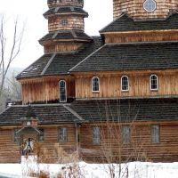 (copyrighted)  ukranian church winter, Джонсон-Сити