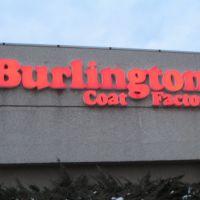 Burlington sign, Джонсон-Сити