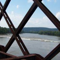 Susquehanna River : West view. 2011, Джонсон-Сити