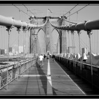 Brooklyn Bridge - New York - NY, Ист-Сиракус