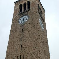 MacGraw Tower at Cornell University, Ithaca, NY, Итака