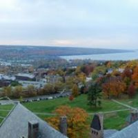 Cornell University at Ithaca from MacGraw Tower, Итака