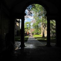 The Balch archway and yard, Итака
