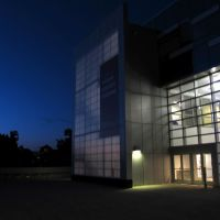 Night at Human Ecology Building, Итака