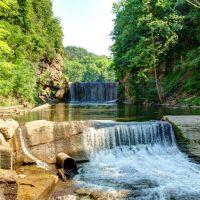 Second Dam Falls - Six Mile Creek Gorge, Итака