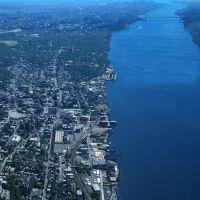 Yonkers Waterfront Aerial, Йонкерс