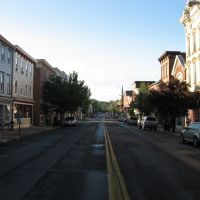 Matin tranquille à Catskill, Катскилл