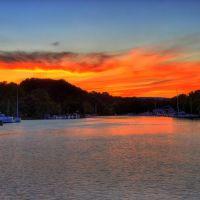 Catskill Creek at Sunset, Катскилл
