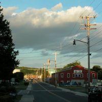 Toward Dutchmans Landing, Catskill, NY, Катскилл