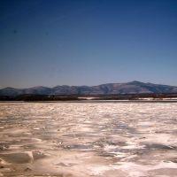 Frozen Hudson River 3-2-2009, Катскилл