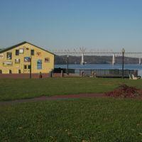 View of Rip Van Winkle Bridge for Dutchmans Landing, Катскилл