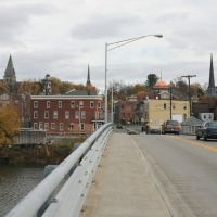 Downtown Catskill from the Uncle Sam Bridge, Катскилл
