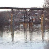 Catskill Creek railroad bridge, Катскилл