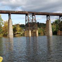 CSX Railroad Bridge over Catskill Creek, Catskill, New York, Катскилл