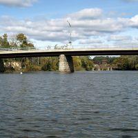 Uncle Sam Bridge (SR-385) over Catskill Creek, Catskill, New York, Катскилл