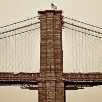 New York, The Brooklyn Bridge, Каттарагус