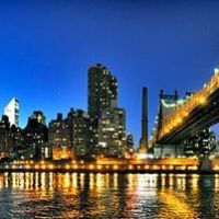 Manhattan, Queensboro Bridge y Luna, Квинс