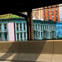 Old Tenements as seen from the Ed Koch Queensboro Bridge, Квинс