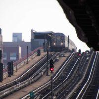 40th St station from 33rd St + Rawson Street, Квинс