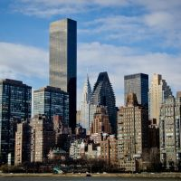NY - View from Roosevelt Island - (For my friend Minusca), Квинс