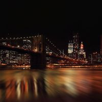 Brooklyn Bridge  , Manhattan   New York, Кев-Гарденс