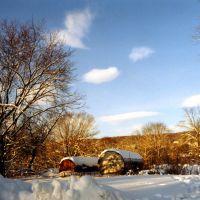 Winter landscape in Kingston, Кингстон