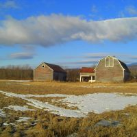 Barns near Cadyville, NY, feb 19, 2012, Клинтон