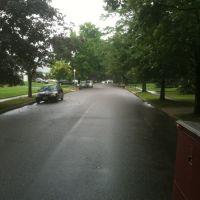 Wet street, Коммак